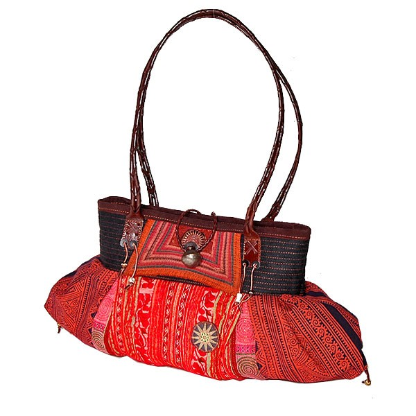 Handtasche 'Hilltribe Collection'